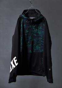 グリーンブラック/ホワイト