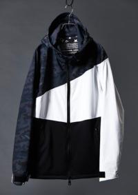 ブラック/ホワイトカモ