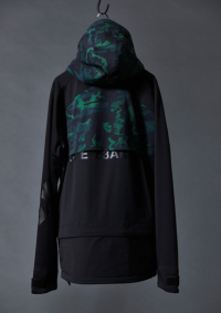 グリーン/ブラック