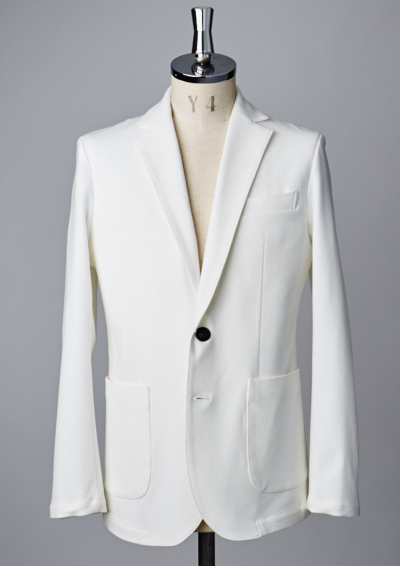 J201 / SWING EASY JACKET -WHITE-の写真