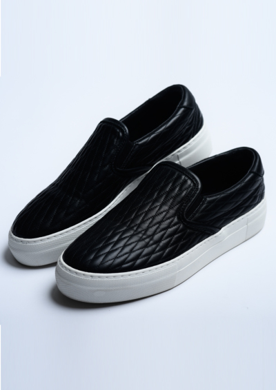 G322 / DIA SLIP-ON-BLACK-の写真
