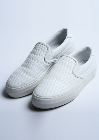 G322 / DIA SLIP-ON-WHITE-の写真